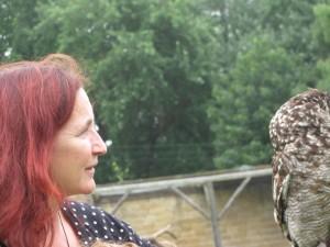 Me with a badass owl.