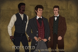 Behold the men of Fool's Gold: Calvin Sutter, Ira Adler, and Tim Lazarus