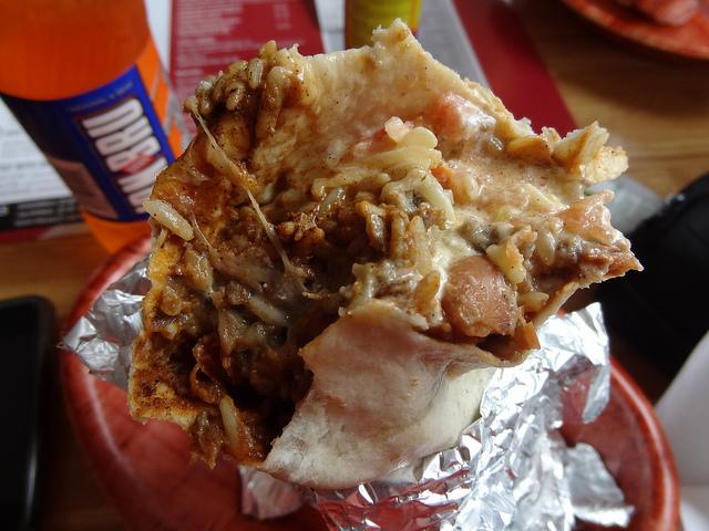 a haggis burrito